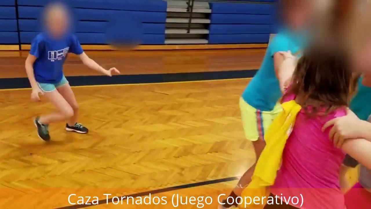 Caza Tornados Juego Cooperativo Para Ninos Youtube