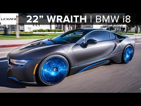 Crazy Bmw I8 Gets 22 Lexani Wheels Klasse Auto Youtube