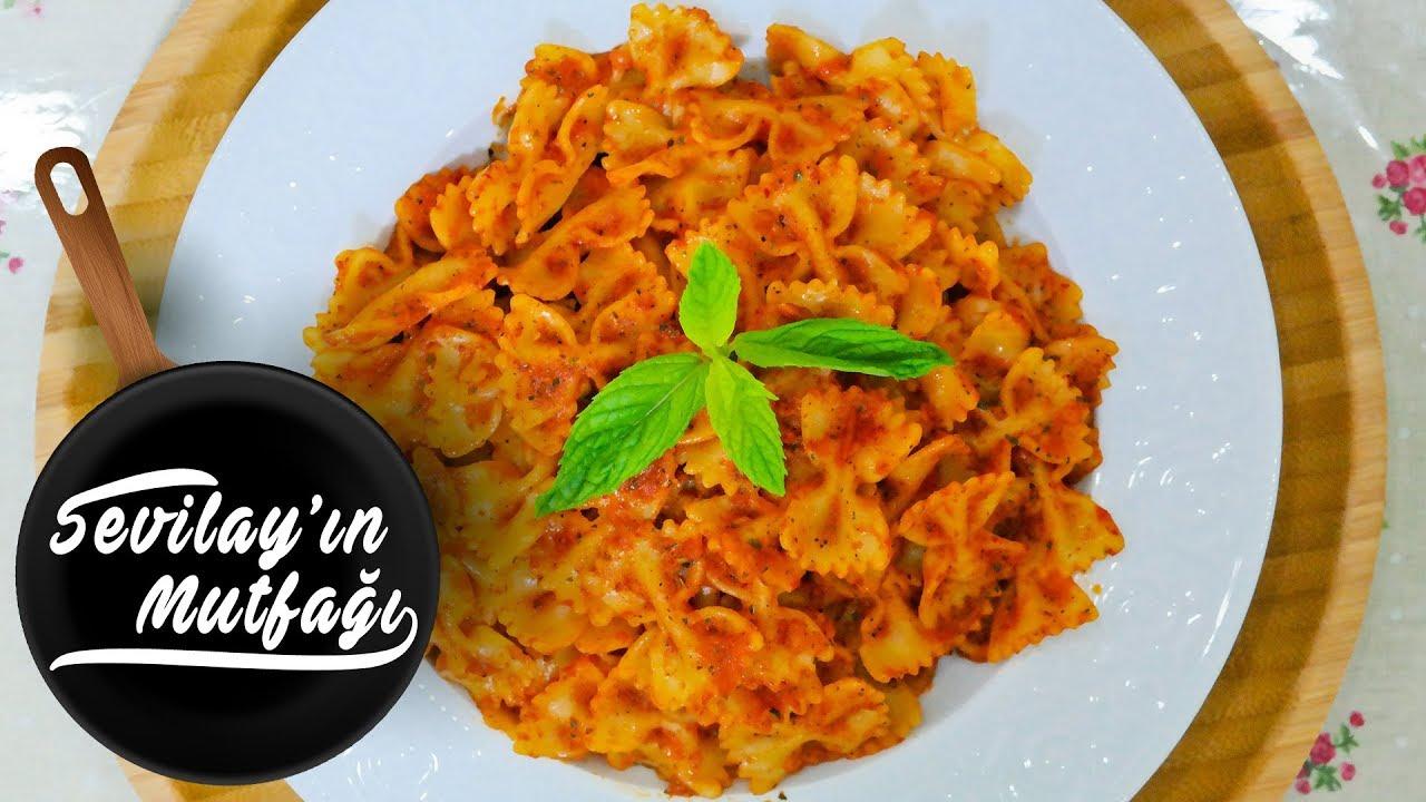 EN KOLAY SALÇALI SPAGETTİ MAKARNA TARİFİ | Salçalı soslu spagetti nasıl yapılır ?