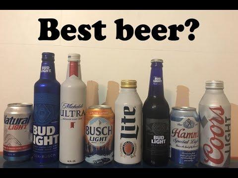 Beer tasting The best light beer