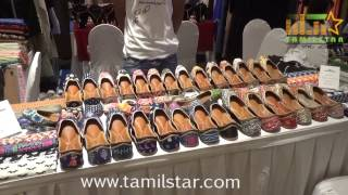 Sania Mirza And Varalaxmi Sarathkumar At ' The Label Bazaar '