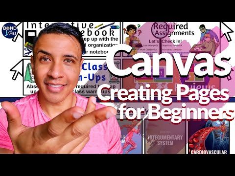 Canvas For Teachers: Creating Pages & Setting A Homepage