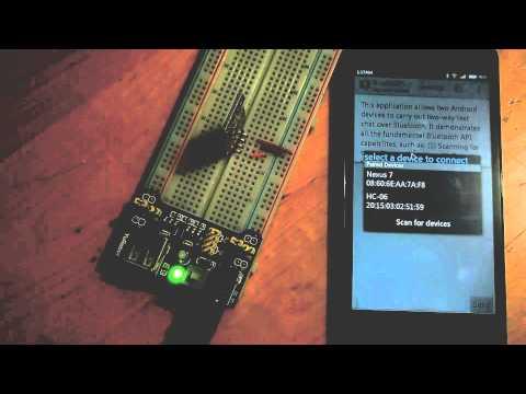 Arduino-er: Test HC-06 Bluetooth Module (without controller