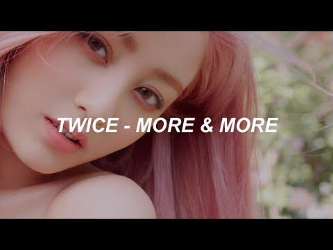 """TWICE """"MORE & MORE"""" Easy Lyrics"""