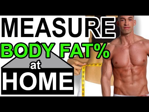 Measure Your Body Fat NOW ➟ AT HOME �� Easy Cheap Effective way to estimate & calculate percentage
