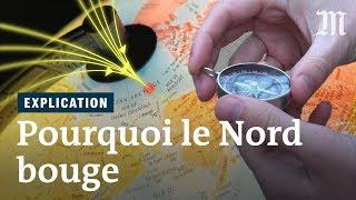 Pourquoi le nord magnétique bouge-t-il ?