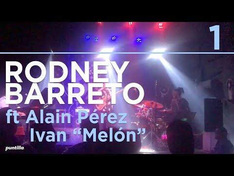 """Rodney Barreto - En Vivo, Festival Jazz Plaza 2018 junto a Alain Perez e Iván """"Melón"""" Lewis"""