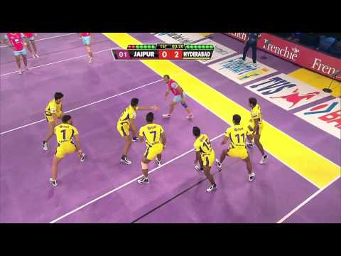 Star Sports Pro Kabaddi: Sandeep's Tactical Steal!