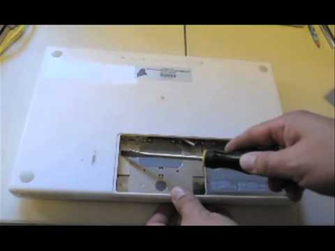 How to remove hard drive from MacBook - YouTube