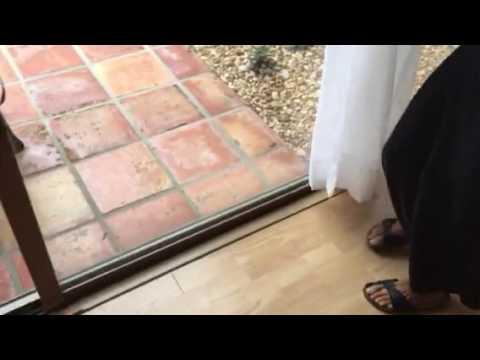 Diy Fix Stuck Sliding Glass Door Youtube