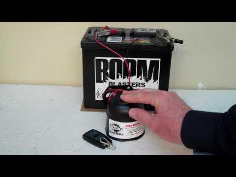 Donkey Sounds Musical Car Horn Wireless