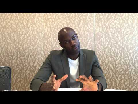 Comic Con 2015: Ping CONTAINMENT with David Gyasi