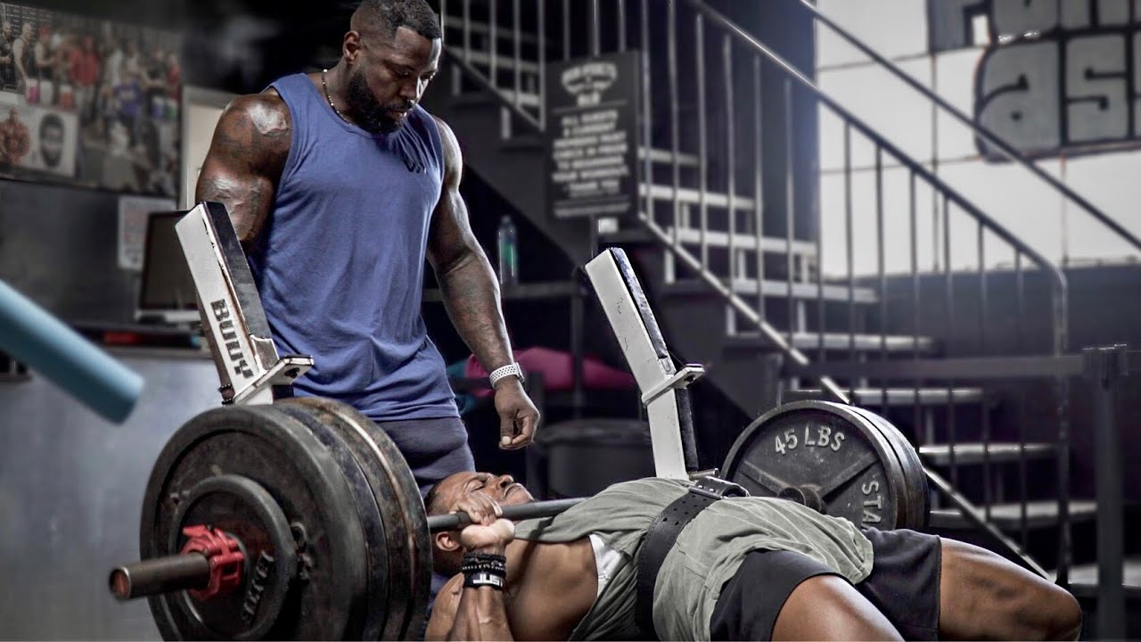 BUILD A BIGGER CHEST BENCH PRESS ROUTINE (EVERY REP & SET) | WITH MIKE RASHID