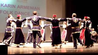Karin - Armenian Folk Dance and Song Group Performance in XIV World Folkdance Festival 2011