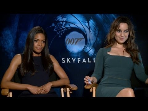 Berenice Marlohe and Naomie Harris On