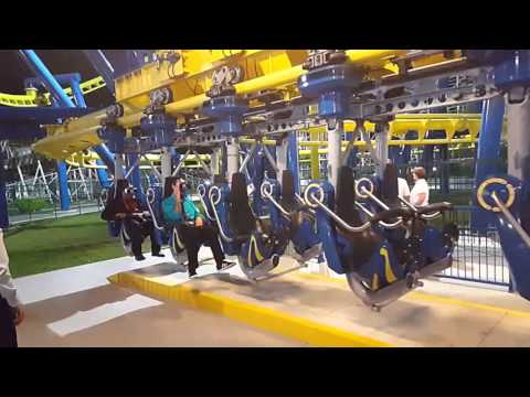 REAL Virtural Reality Coaster at Fun Spot from VR Coasters