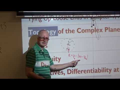 Intro Complex Analysis, Lec 10, Open Disks are Open, Derivatives, Analyticity, Linear Approximations
