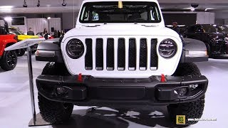 2018 Jeep Wrangler Unlimited Rubicon - Exterior and Interior Walkaround - 2018 Montreal Auto Show