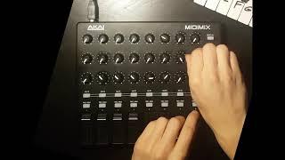 Reggae dub mix on Akai Midimix