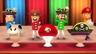 Wii Party U - Mario VS Luigi VS Bowser Jr. VS Yoshi (Minigames)