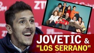 """Jovetic: """"Aprendí español viendo Los Serrano"""""""