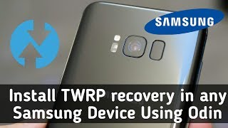 install twrp odin 3.12