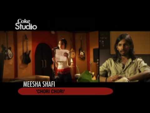 Chori Chori, Meesha Shafi - BTS, Coke Studio Pakistan, Season 3