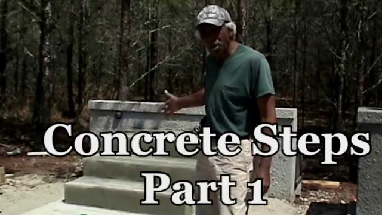 How To Build Concrete Block Steps Video Tutorial You