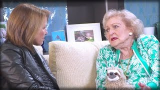 KATIE KOURIC BEGGED BETTY WHITE TO TRASH TRUMP, INSTEAD BETTY SAID THE UNEXPECTED!