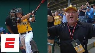 LLWS 2018 highlights: Georgia dad fired up again after team advances vs. Michigan | ESPN