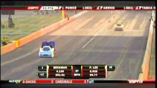Jack Beckman Paul Lee FC Qualifying Route 66 Nationals 2011.mpg