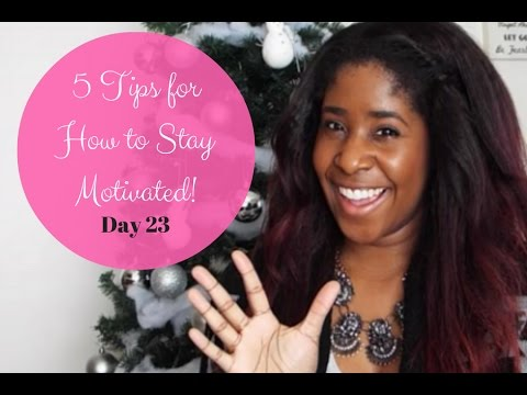 How to Stay Motivated During Your Financial Journey {25 Days of Budgets, Day 23}