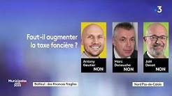 Municipales à Bailleul : regardez le débat entre Antony Gautier, Marc Deneuche et Joël Decat