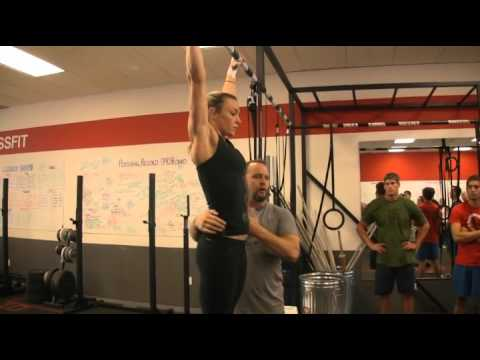 Kipping Pull-ups with Jeff Tucker