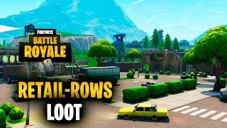 Fortnite | What loot would you get from Retail-row