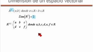 12 Dimension de un Espacio Vectorial.mp4