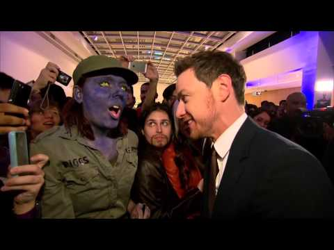 X-Men: Days of Future Past: Sao Paulo Brazil Premiere Cast Arrivals & Atmosphere - James McAvoy