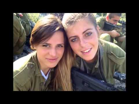 Israeli army Military Lawyers course (IDF female soldiers women israel defense forces girls tavor)