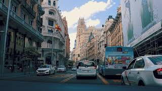 A quick tour in the streets of Madrid