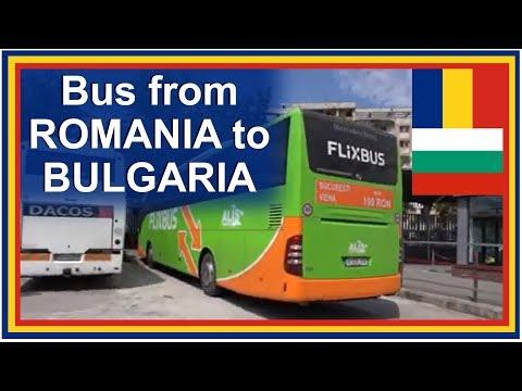Bus to Sofia Bulgaria with Flixbus Europe from Bucharest Romania