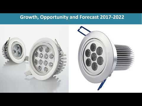 LED Downlight Market Growth, Share, Opportunities, Competitive And Forecast 2016 To 2022