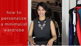 How To Personalize Your Minimalist Wardrobe