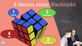 4 seiten einer Nachricht nach Friedemann Schulz von Tuhn/Nachrichtenqua + Beispiel einfach erklärt!