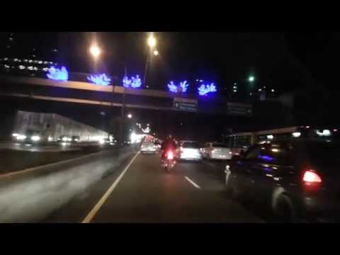Driving in Sao Paulo - Brazil