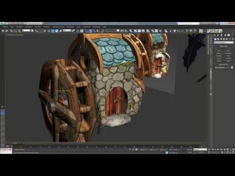 Exporting object from 3DSmax (modifiers flex/morph) - Unity