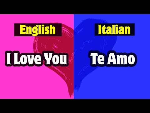 """How To Say """"I Love You"""" In 10 different Languages 
