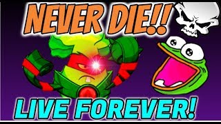 HOW TO CHEAT DEATH AS PLANTS IN PVZ HEROES!!!