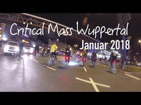 Critical Mass Wuppertal Januar 2018