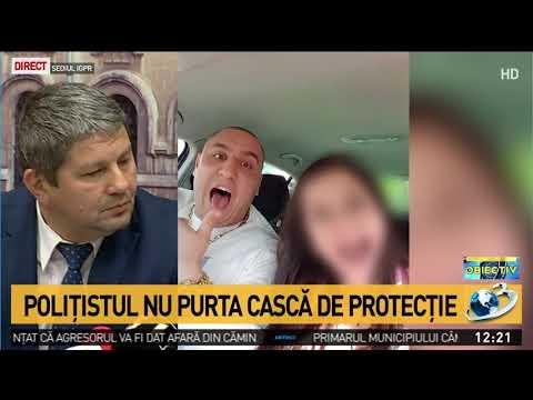IGPR: Polițistul din Suceava tăiat cu sabia nu purta cască de protecție