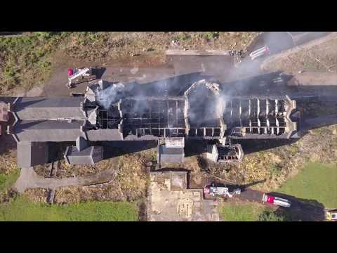 St Kevin's Aftermath - Cork - Drone